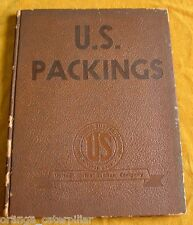 U.S. PACKINGS United States Rubber Company Catalog Asbestos Products Vintage