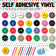 """SNC Tuning Quality Blank MATTE Vinyl Sticker Color Sheets 10pack Assorted 12/""""x12"""