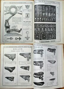 BICYCLE 1930s Trade Catalog - Large, 100+ Pages Fully-Illustrated
