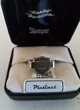 #184 NEW Harley-Davidson ring by Stamper, Platinet, size 8