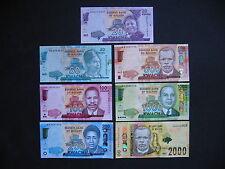 MALAWI  20 + 50 + 100 + 200 + 500 + 1000 + 2000 Kwacha 2014/16  UNC