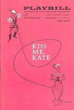 """Cole Porter """"KISS ME KATE"""" Patrice Munsel / Avon Long '64 San Francisco Playbill"""