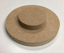 30,39€/m² MDF (roh braun) 22mm runde Holz Platte Scheibe Tischplatte nach Wahl