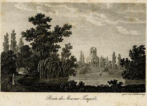 Antique Print-ARCHITECTURE-SCHWETZINGEN-FOLLY-NICOLAS DE PIGAGE-Haldenwang-1810