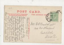 Mr G J Bradshaw Mount Pleasant Redditch 1909 534a