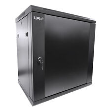 """LDR 12U x 450mm Wall Mount 19"""" Data Cabinet Flat Packed"""
