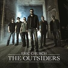 The Outsiders by Eric Church (CD, Feb-2014, Capitol Nashville)