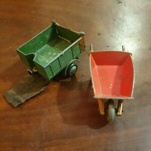 Dinky Toys - Bedford Tipper  No.410 -  Meccano rear part only & wheelbarrow used