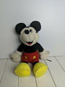 "Rare Collectible Vintage 12"" Mickey Mouse Plush Toy Disney"