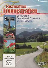 FASZINATION TRAUMSTRASSEN - UNTERWEGS IN DEUTSCHLAND, ÖSTERREICH... / DVD - NEU