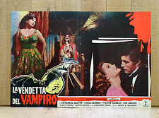 LA VENDETTA DEL VAMPIRO fotobusta poster El Mundo De Los Vampiros Tucker G2