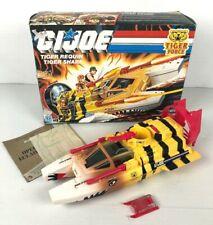 GI JOE TIGER SHARK COMPLET  + BOX 1988