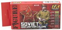 AK Interactive AK3120 Soviet WWII Uniform Colors (Figure Series) Paint Set NIB