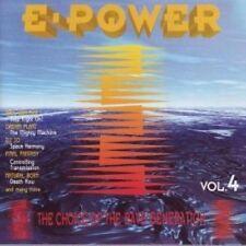 E-Power 4 (1995) Paul van Dyk, Dream Plant, DJ Jo, Final Fantasy, Natural.. [CD]