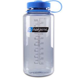 Nalgene Tritan Wide Mouth Water Bottle - 32 oz. - Gray/Blue