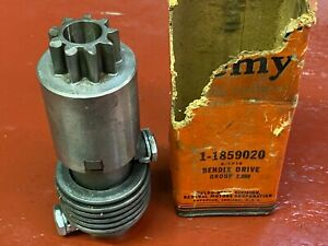1934-37 CHEVROLET 1938-41 PACKARD STARTING MOTOR DRIVE DELCO REMY 1859020 NOS