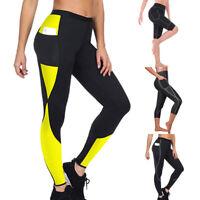 Women Sauna  Loss Slimming Pants Leggings Fitness Workout Body Shaper 33