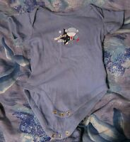Great boy's vest with Monkey about design fastening by groin 6-12 months