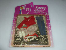 New On Card Ginny Sasson Designer Fashions Outfit Set Vogue Dolls 1981 Vintage