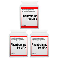 300 PHENTRAMINE 50mg MAX strong diet pills SLIMMING/WEIGHT LOSS ultra fat burner