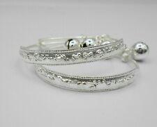 12 Zodiac White Gold 22K 23K Thai Baht Gold GP Jewelry Baby Set Anklet Bell
