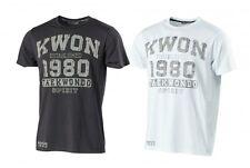 Kwon T-Shirt Taekwondo Figurbetont 2 Farben. Boxen, Karate, Muay Thai, Kickboxen