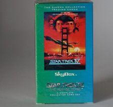 Skybox Star Trek Star Trek IV The Voyage complete trading card set still sealed