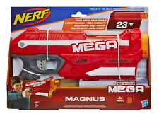 Hasbro Nerf Blaster N-Strike Gun Mega Magnus Elite 3 Darts Spielzeugblaster