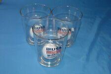 Golf Whimsical 12oz Drinking Glasses Set Of 3