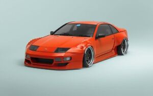 KBD Body Kits PMZ-K V2 2 Piece Front Fenders For Nissan 300ZX 1990-1996