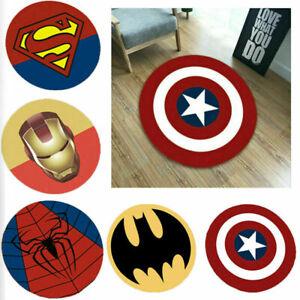 Avengers Superhero Carpet Non Slip Mat Floor Rug Bedroom Marvel Pad Home Decor