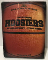 HOOSIERS (1986) Gene Hackman Dennis Hopper 2-Disc Collector's Edition Set SEALED