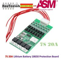 7S 20A Li-ion Lithium Battery BMS PCB 18650 Charger Protection Board
