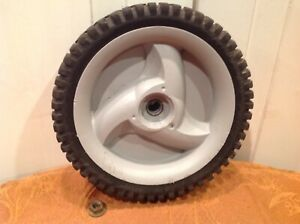 Craftsman 917.372354 7HP Platnium Mower - Replacement Front Wheel w/Nut