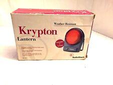 Krypton Flashlight - Weather-Resistant Lantern, Radio Shack 61-854 Vintage