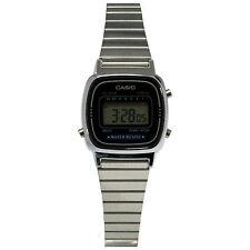 Casio LA670WA-1W Women's Silver Multi-Function Casual Digital Watch