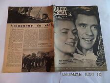 RADIO CINEMA TELEVISION N°350 30/09/1956 INGRID BERGMAN MEL FERRER M.PAVLOW  G13