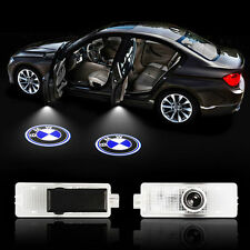 2x Car Door Step Laser Logo LED Light Courtesy Projector For BMW 3 5 6 7 Series