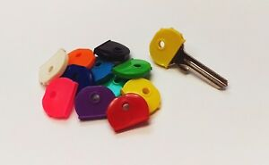 8 Schlüsselkennkappen - Schlüsselkappen - Schlüsselkennringe