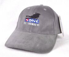 *ST. THOMAS* U.S. VIRGIN ISLANDS Scuba diving Fitted Ball cap hat OURAY sample