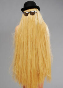 Addams Family Cousin It Style Adult Fancy Dress Halloween Costume Accessory Kit