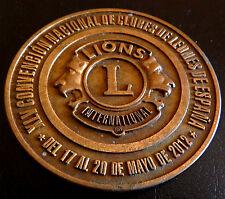 509-INDALO-Clubes de Leones de España 2012. LIONS INTERNATIONAL - Rara. 159,00 g