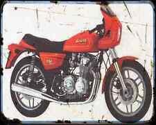 Benelli 654 Sport 82 A4 Metal Sign Motorbike Vintage Aged