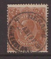 Queensland nice NERANG 1936 postmark on 5d KGV