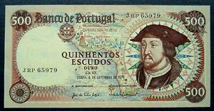 PORTUGAL 500 ESCUDOS P170b 1979 UNC