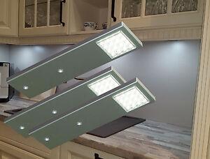 LED Unterbauleuchte Küchenleuchten Vitrinenleuchten Möbelleuchte Set2075-76/4189