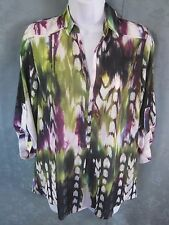 Mossimo Pullover Top Size XS NWT Tie Dye Style Print