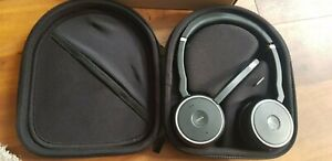 Jabra Evolve 75 Noise Cancelling Wireless Headset - Black