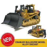 1X Crawler Bulldozer Model Alloy Diecast 1:50 Engineering Metal Toy Construction