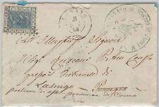 Brescia --- ITALIA REGNO:  storia postale - BUSTA / LETTERA : Lonato  1868